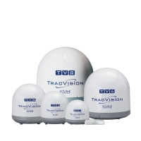 KVH TracVision - powerful family of fully stabilised marine satellite TV systems