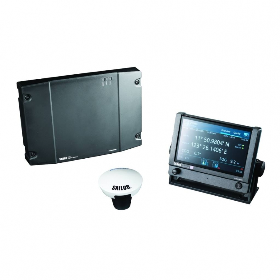 Network integrated satellite navigation Sailor 6560 GNSS System